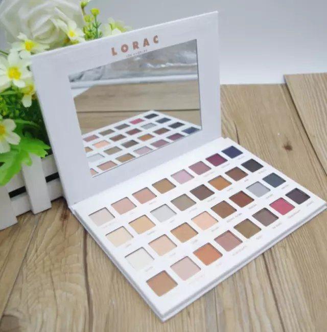 Lorac Mega PRO 3 Varied Matte Eyeshadow Palette 32 Color
