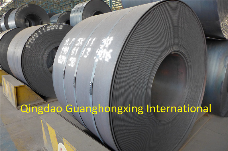 Q195, Q235, ASTM Gradeb, Gradec, Graded, JIS Ss400, En S235jr Hot Rolled Steel Coil