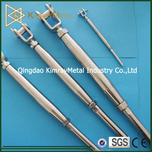 Stainless Steel Jaw and Swage Turnbuckle for Balustrading