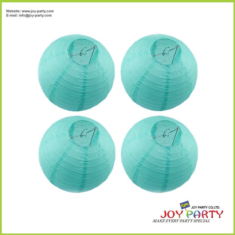 Decorative Tiffanny Round Paper Lantern for Wedding Party