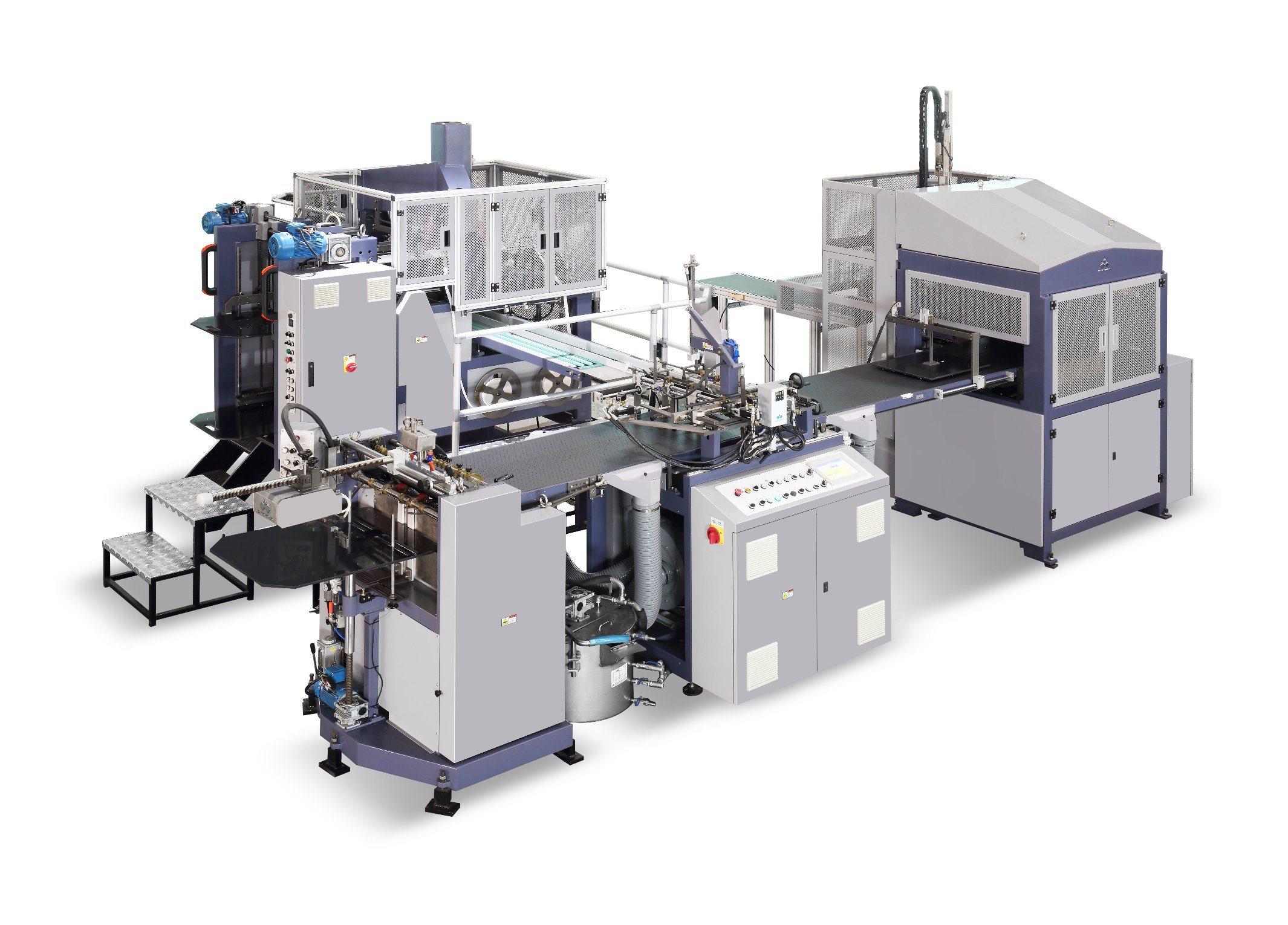 Fully Automatic Rigid Box Making Machine