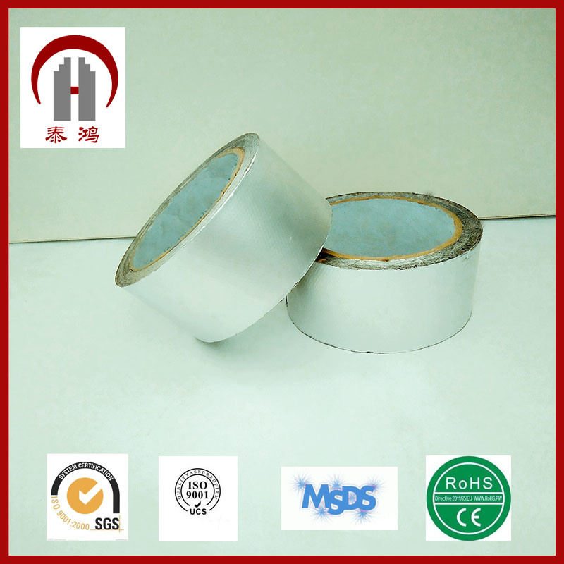 Silver Aluminum Tape in Industry