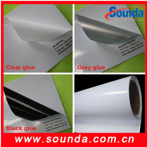 Best Selling White Printing PVC Vinyl Sticker