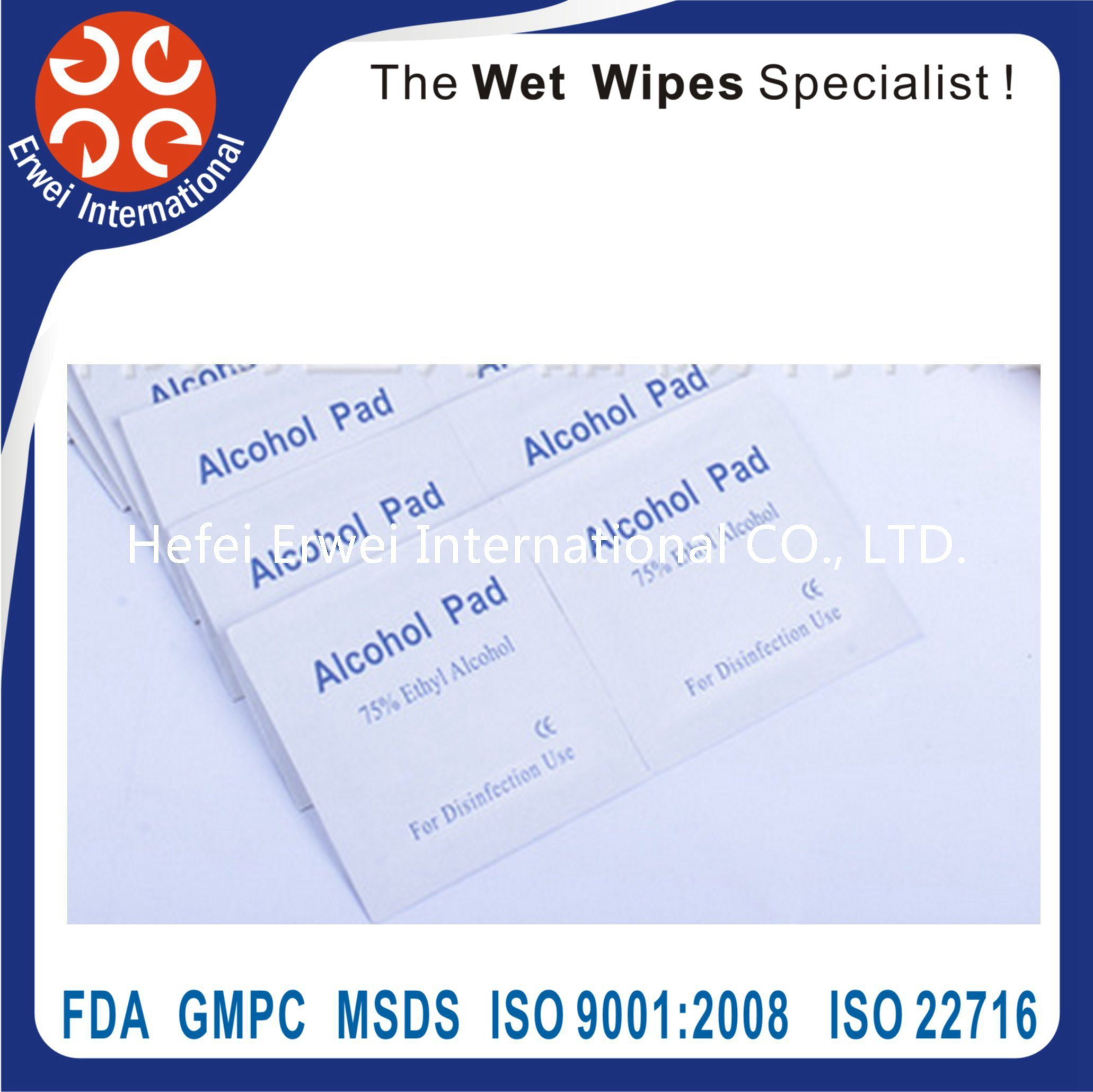 Glass Cleaning Optical Lens Wet Wipes, Cleaning Product