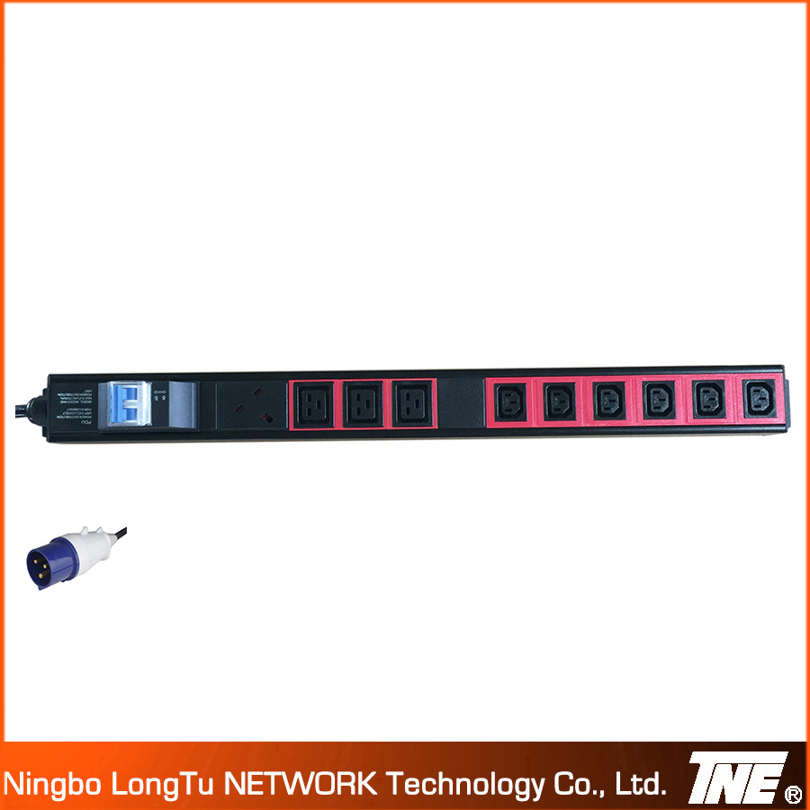 IEC Color PDU with MCB