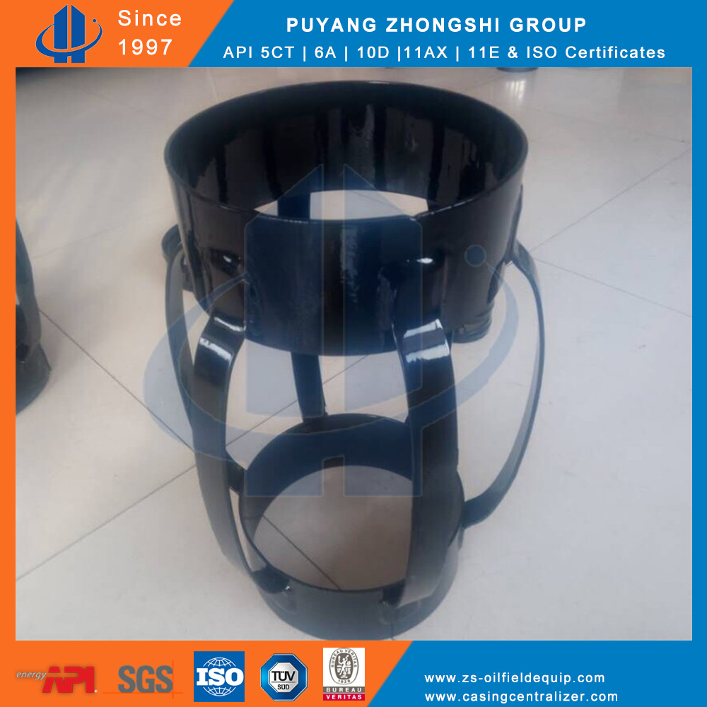 API 10d Bow Spring Casing Centralizer, Flexible Welded Centralizer