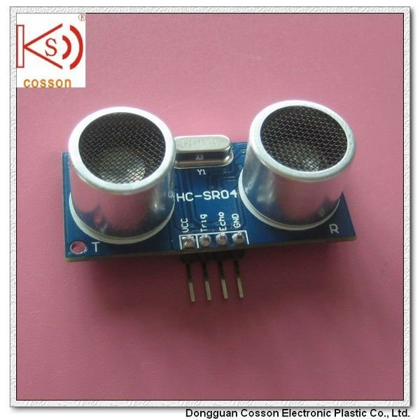 Aluminum Distance 16mm Waterproof 40kHz Transmitter Receiver Ultrasonic Sensor
