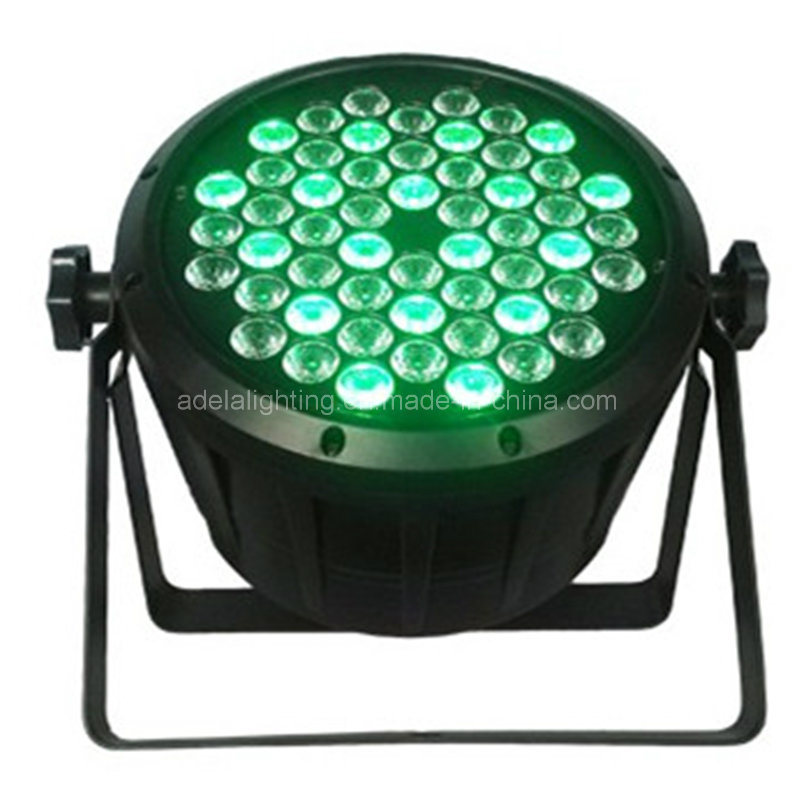Plastic 54X3w RGBW LED PAR Light