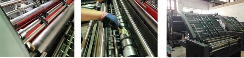 Corrugated Cardboard Flute Laminator Machine for Carton Box Making Machine