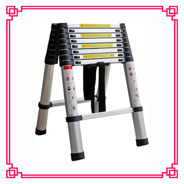 Double Aluminum Telescopic Extension Ladder (DLT508B)