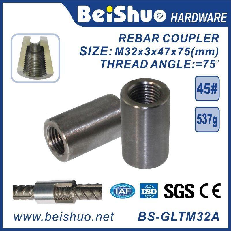 Steel Rebar Couplers or Connector