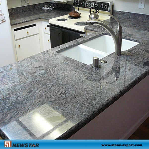 Kitchen Gray Granite Countertops : Top ten elegant grey kitchen countertops