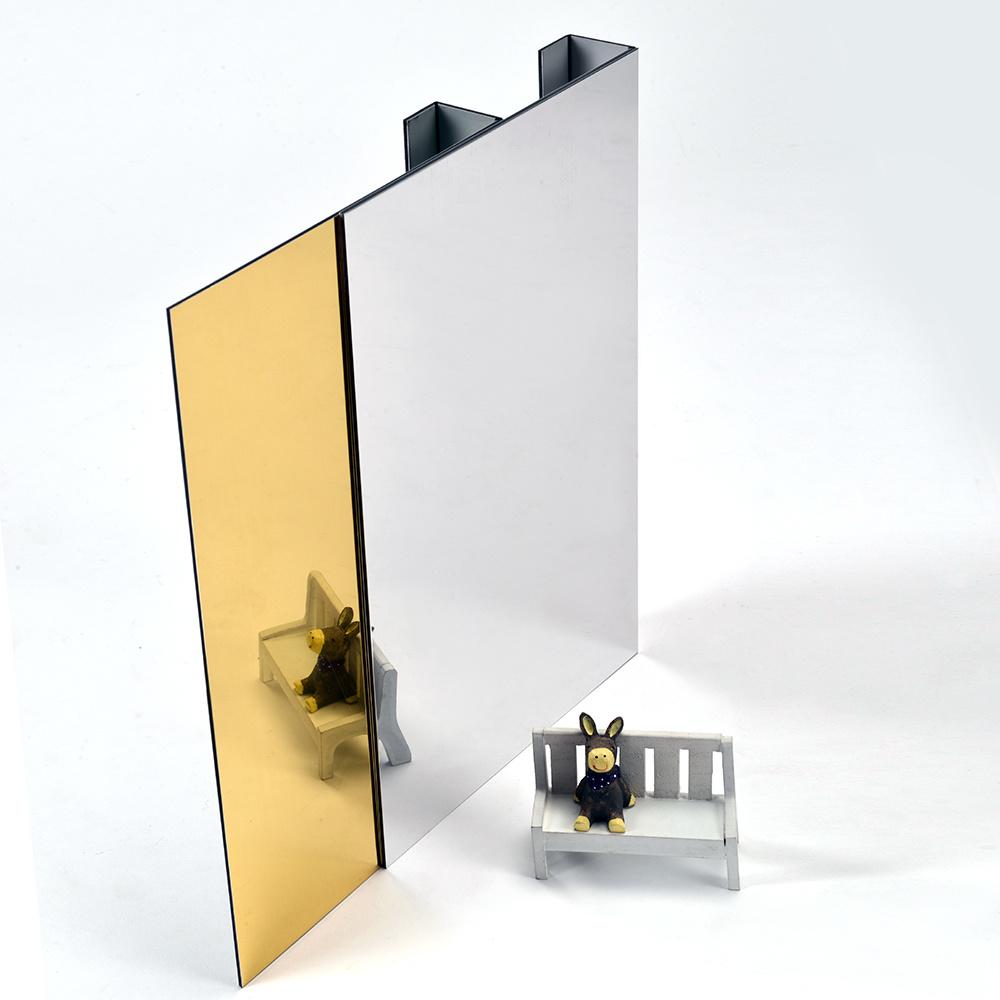 Aluis Interior Mirror Aluminium Composite Panel