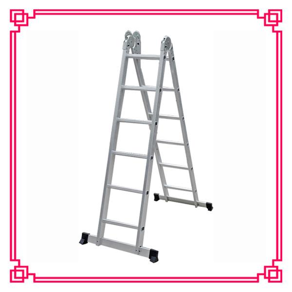 Aluminum Multi-Purpose Folding Ladder/Stairway Extension Ladder