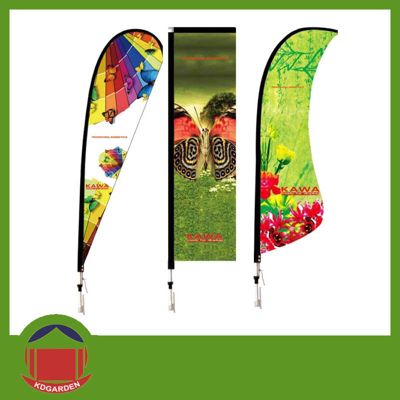 Hot Selling All Size of Polyester Fabric Dye Sublimation Printing Flag