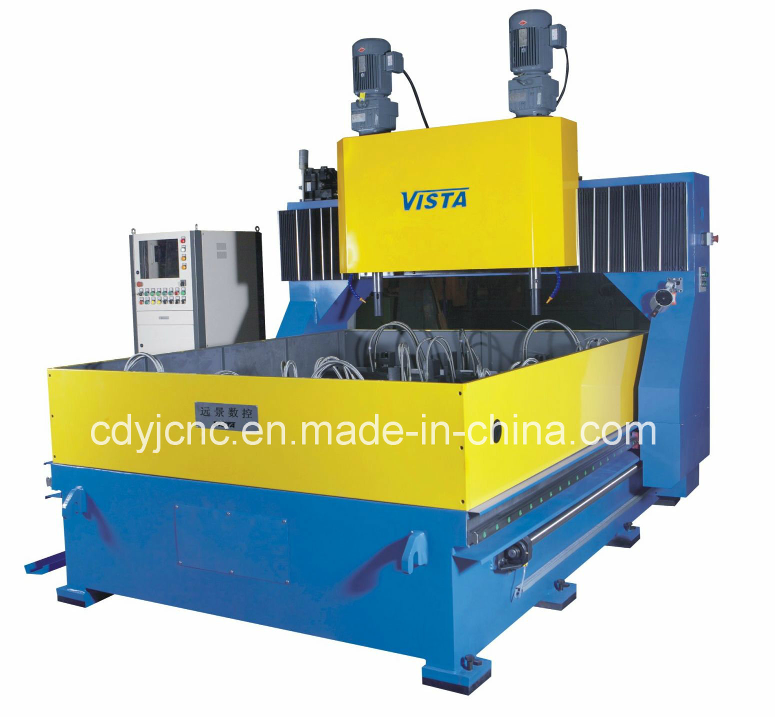 Double Spindle CNC Plate Drilling Machine