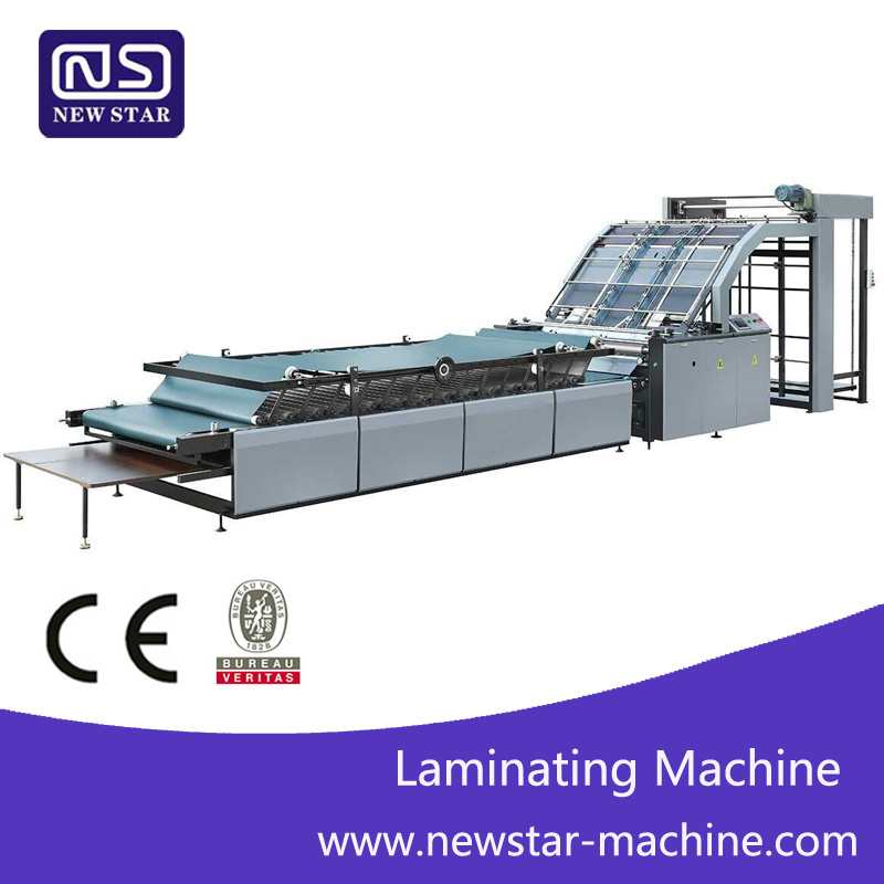 Gfmz-1100/1300/1450 Automatic Flute Laminating Machine