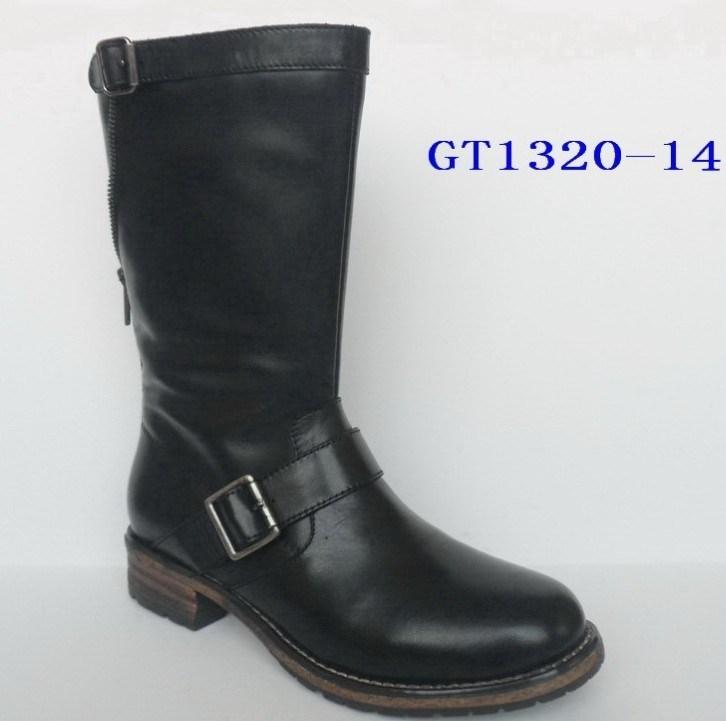 china genuine leather waterproof winter boot china