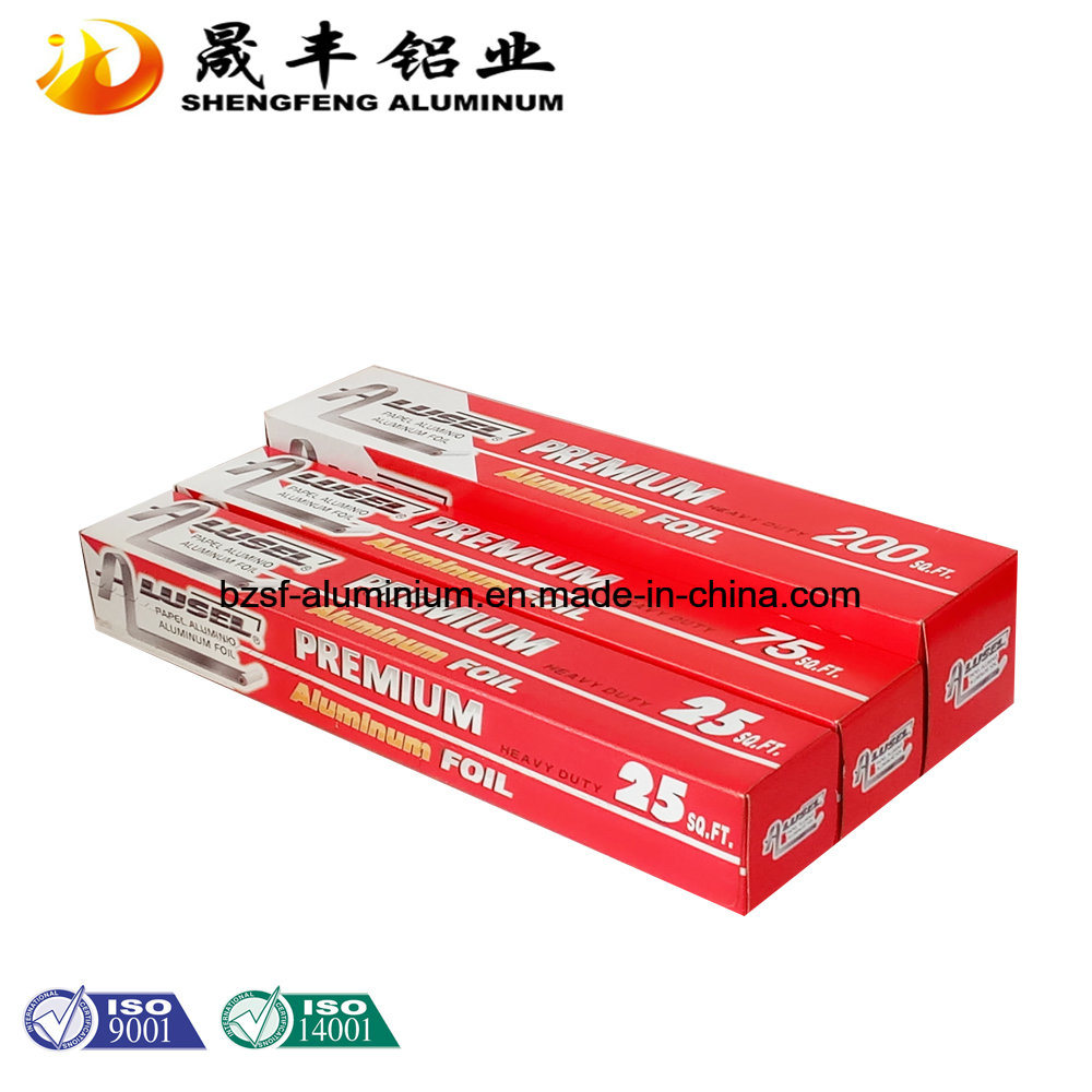 OEM Heavy Duty Aluminum Foil for Food Packing