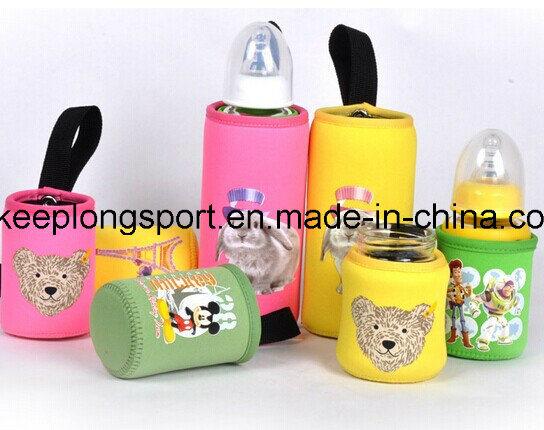 New Deisgn Custom Neoprene Baby′s Bottle Holder, Neoprene Baby′s Bottle Cooler Bag