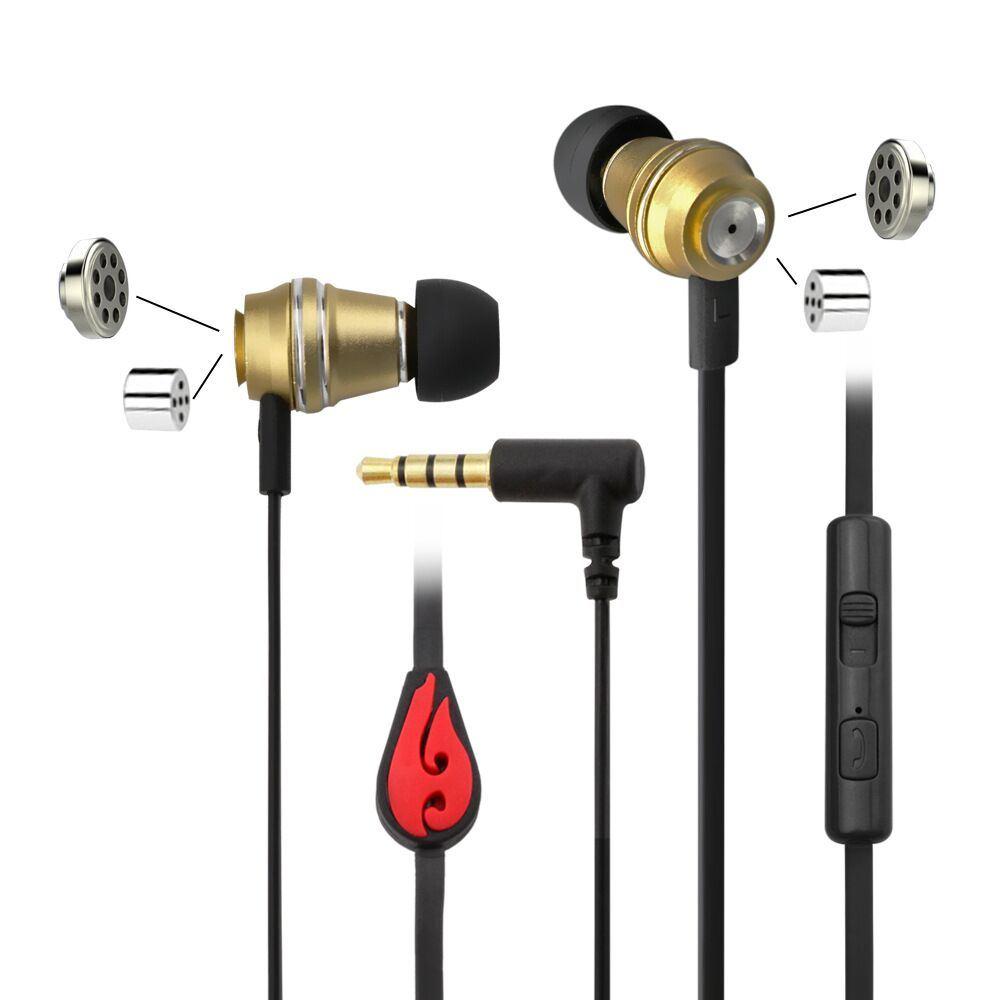 Newest Arrival Noise Cancelling HiFi in-Ear Universal Sport Earphone