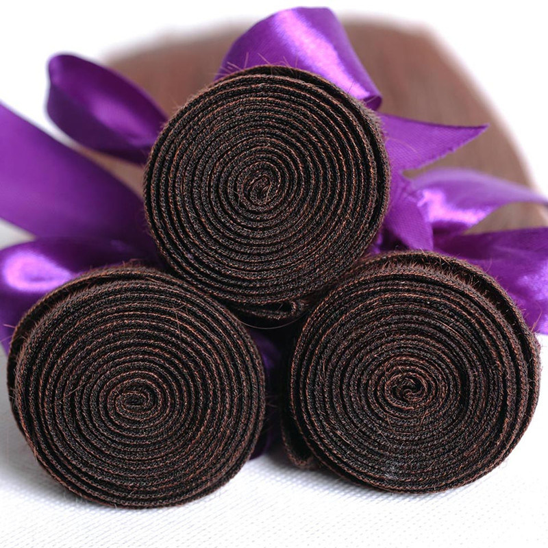 Peruvian Hair Bundles 100% Human Hair Weave Pure 33 Color 10′′-26′′ Non Remy Hair Extension