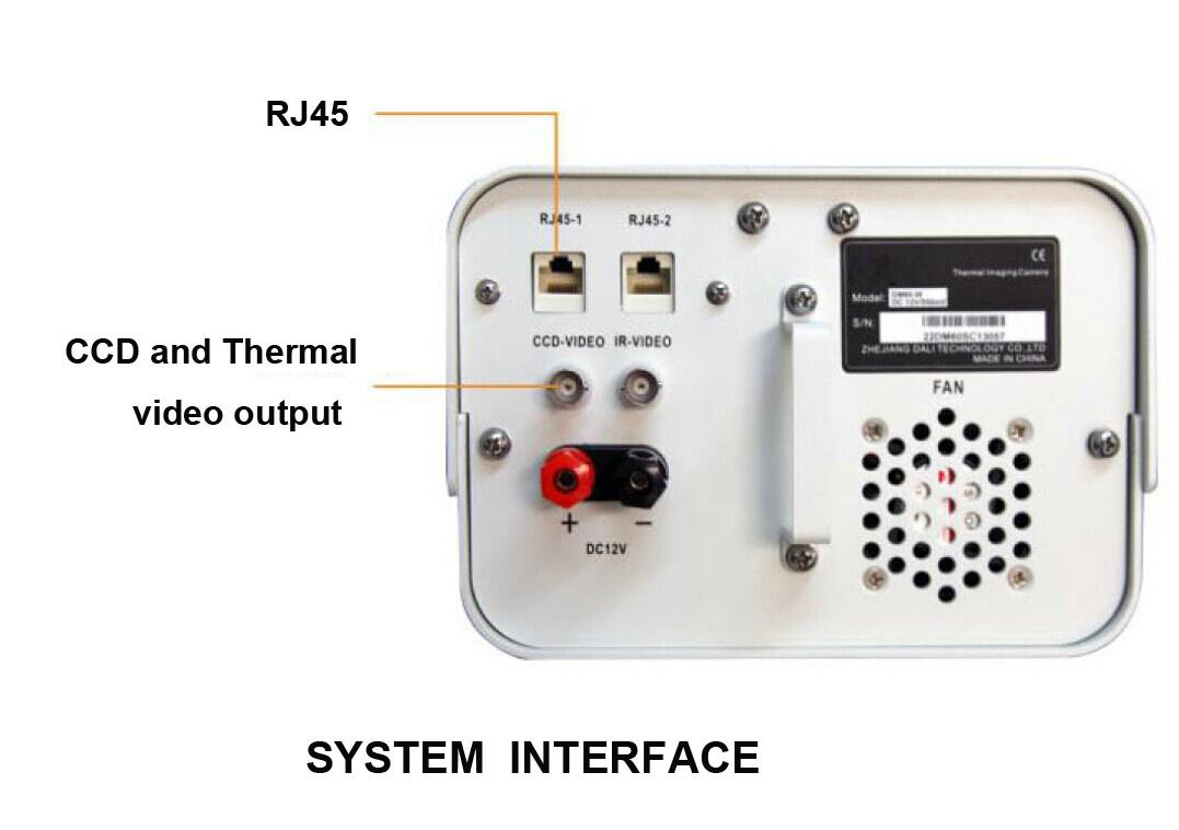 Body Temperature Measureing IR Thermal Imaging Camera