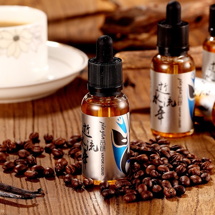 Hot Selling as Time Goes Coffee Vanilla Flavor 30ml Electronic Cigarette Liquid Excellent Taste E-Liquid