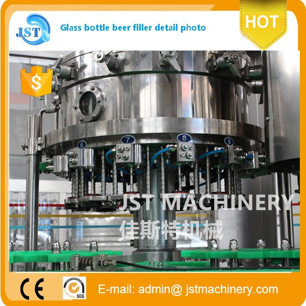 Automatic 3 in 1 Beer Filling Packing Machine