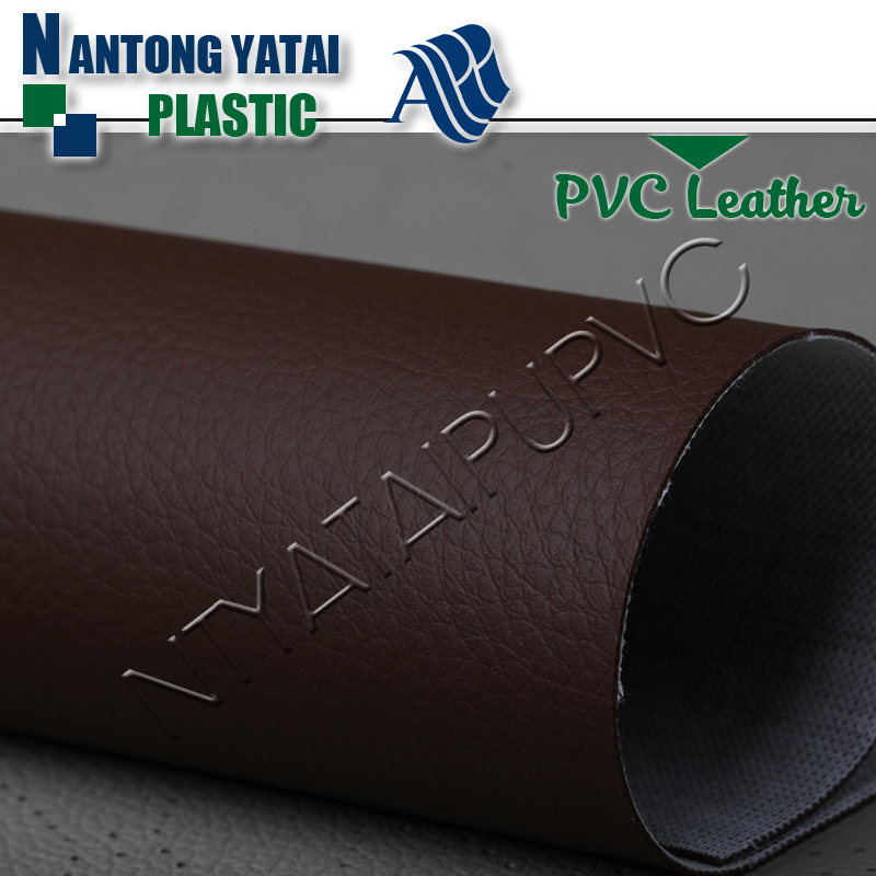Hot Selling Stocklot PVC Synthetic Leather with Cheaper Price