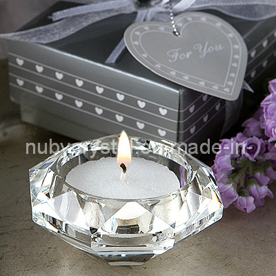 Wedding Favors Crystal Diamond Candle Holder (WF1015)