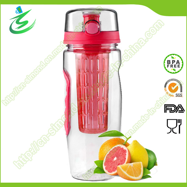 32oz BPA Free New-Arrival Tritan Fruit Infuser Water Bottle