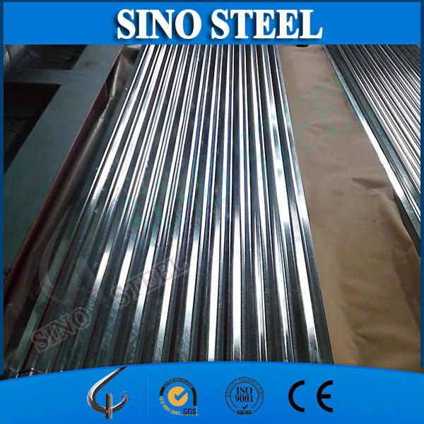 G550 Full Hard Galvanized Corrugated Steel Sheet for Sandwich Panel