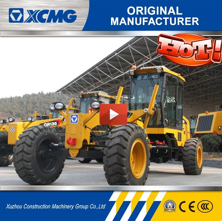 XCMG Motor Grader Gr135 with Ripper and Blade for Sale