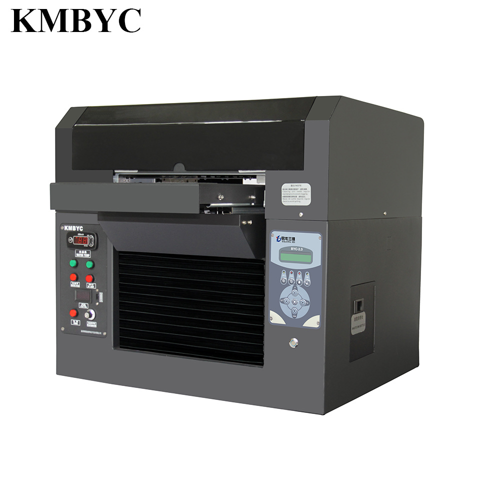 Small Size UV LED Plastic Card Printer A3 Size UV Printer