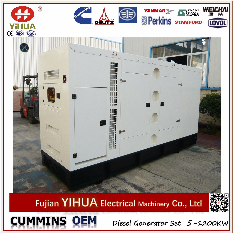 China 250kVA 200kw Electric Silent Diesel Generator with Yuchai