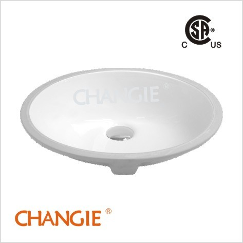 Vitreous Sink,undercounter sink with upc (1614)