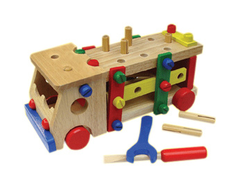 China Wooden Toy - DIY Tools Truck - China Wooden Toys, Toys