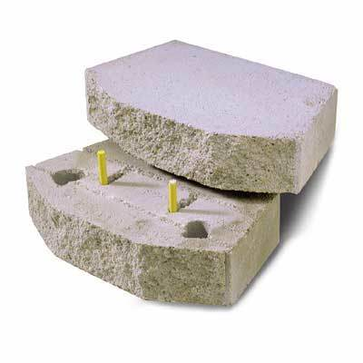 Retaining Wall Block With Pins : Pin for retaining wall system china fiberglass