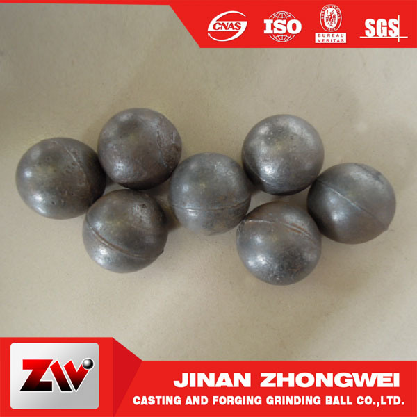 Hot Sale Forged Steel Grinding Media Ball for Ball Mill in Shandong