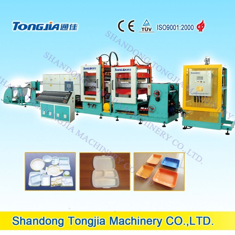 PS Foamed Sheet Extrusion Machine and Fast Food Foam Box Machine