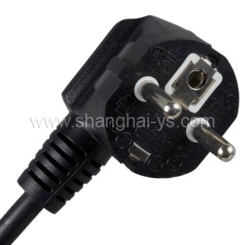 Certificated Power Cord Plug for Germany and European Countries (YS-1)