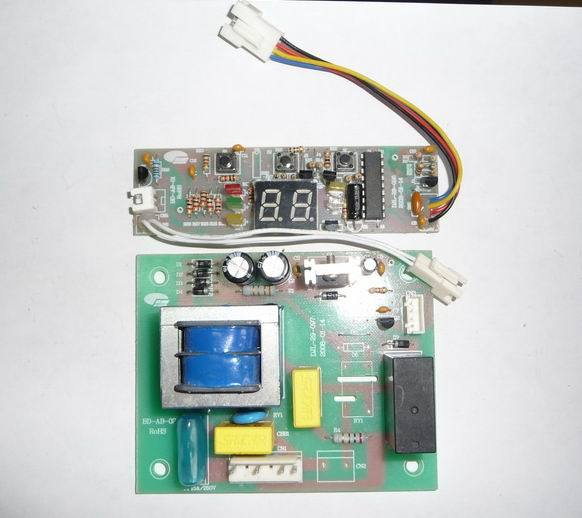 红酒柜控制板图片; 新款高档红酒柜电路板 液晶显示红酒柜.