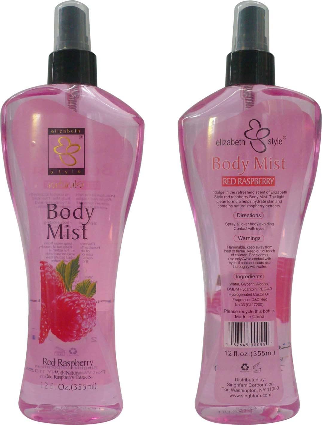 how to put on body spray
