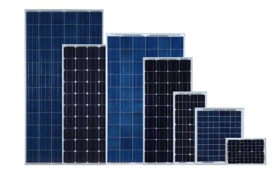 High-Efficiency 105W Mono Crystalline Solar Panel