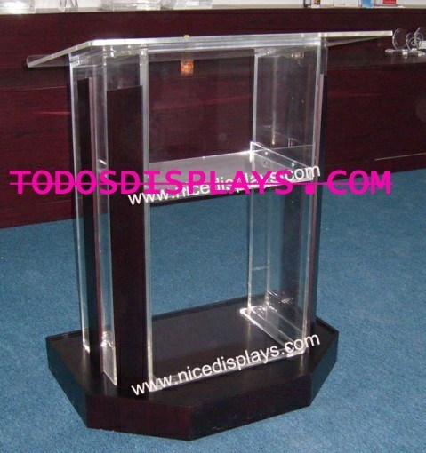 Exhibition Stand Hs Code : China clear acrylic lectern podium