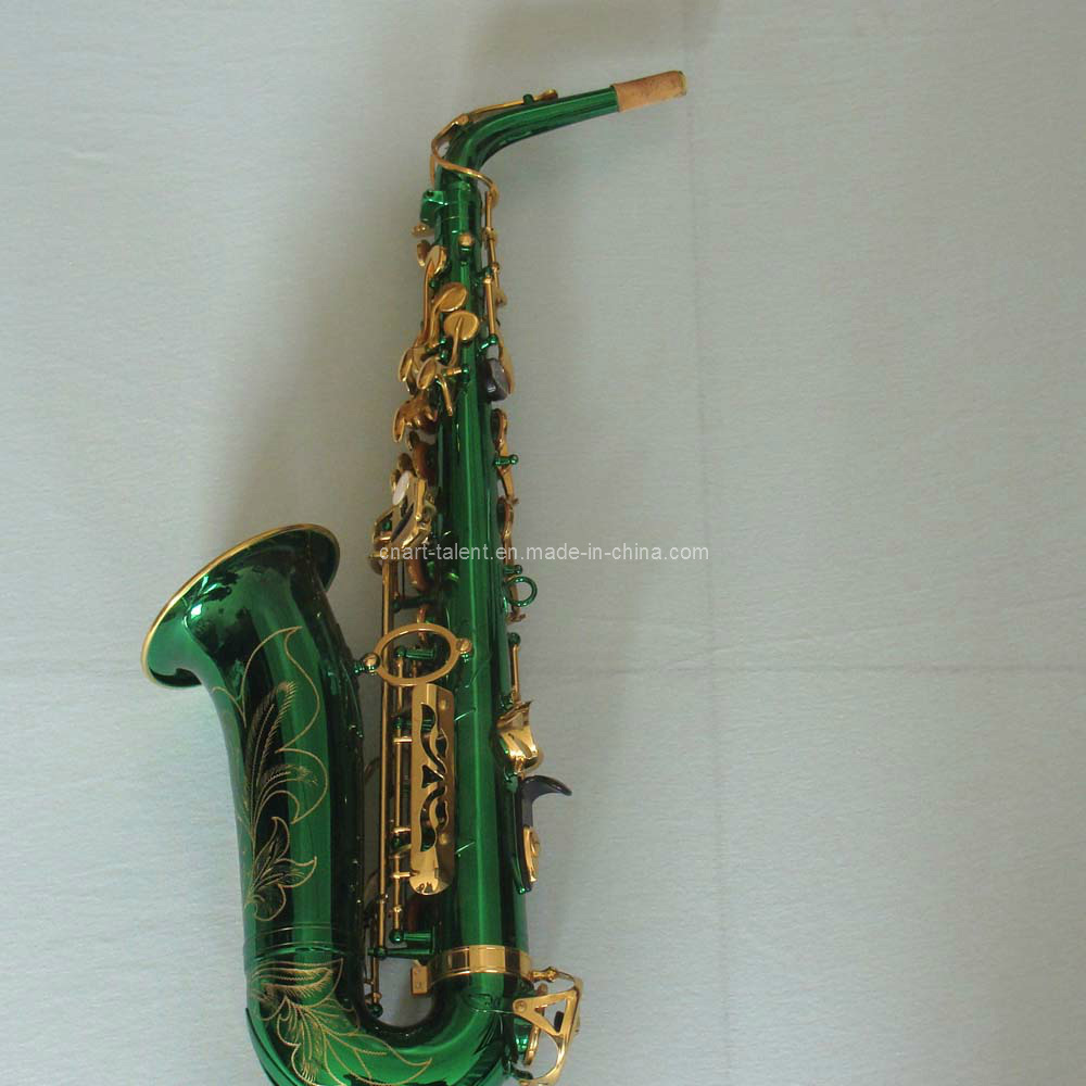 China Alto Saxophone/ Green Color 82z Saxophone (AS-Y82 ...