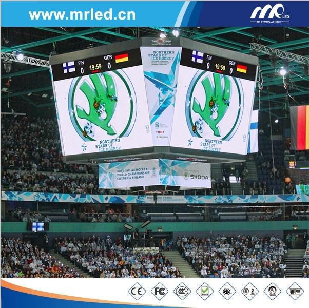 P16 Sports LED Display/Perimeter LED Display (3906pix/m2 Stadium Screen)