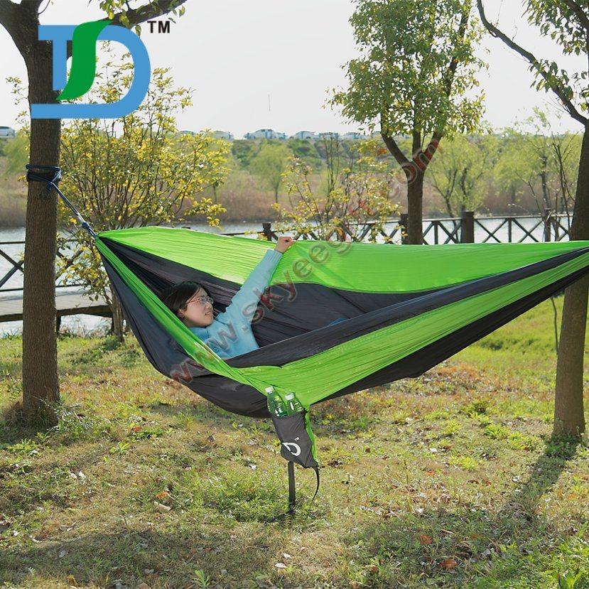 2017 Custom Outdoor Camping Nylon Hammock Beach