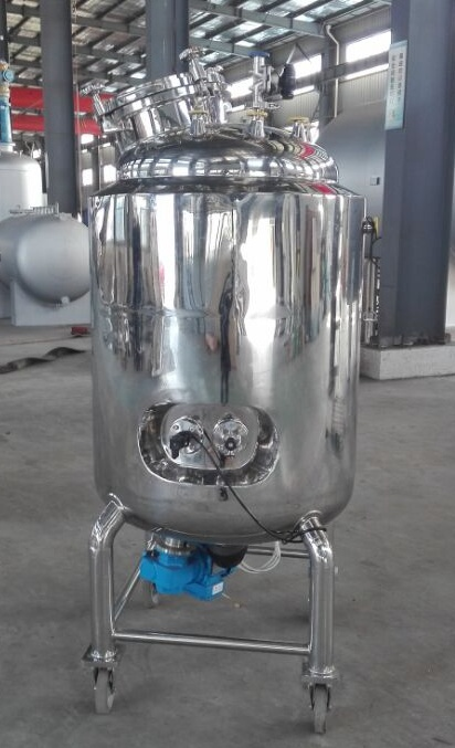Stainless Steel Mobile/Portable/Movable Tank for Liquid Mixing